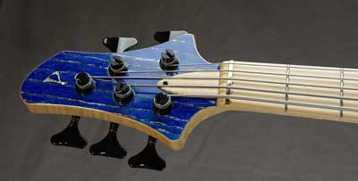 prelude bass guitar headstock small