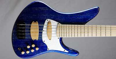 prelude bass guitar with pickguard view small