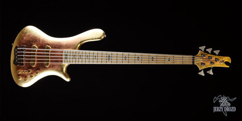 JERZY DROZD Eta Carinae bass guitar full horizontal view