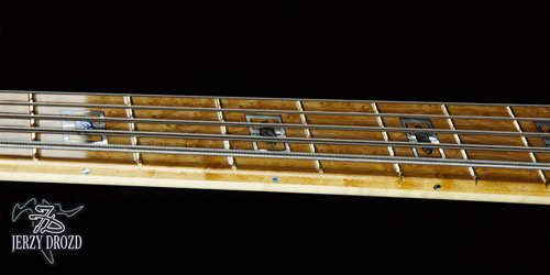 JERZY DROZD Atlas fretboard and side dots view