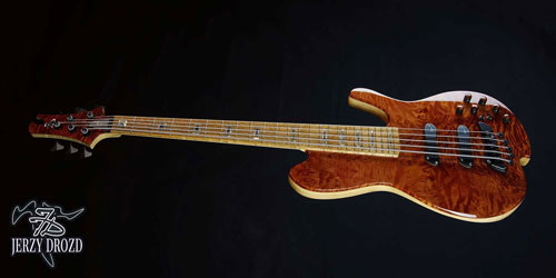 JERZY DROZD Atlas bass guitar full view