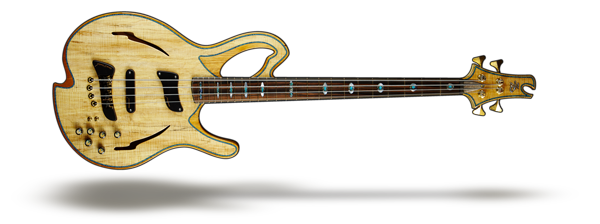 Barcelona Aura bass guitar for Barcelona Collection category