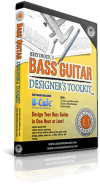 Bass guitar designer´s toolkit